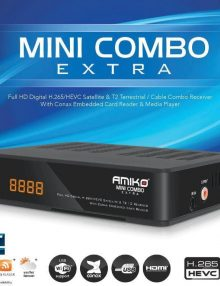 Amiko Mini Combo Receiver Features