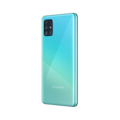 Samsung Galaxy A51 Handset in Crush Blue