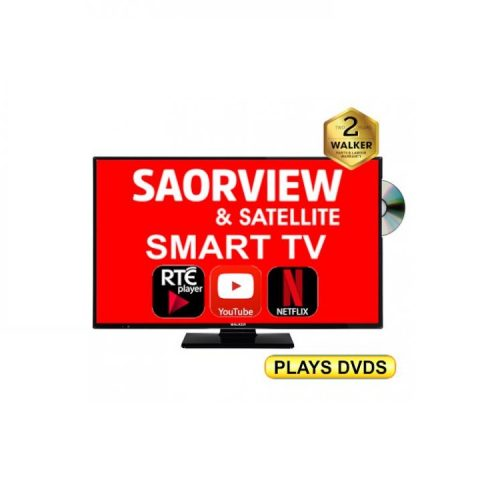 Smart Tv with built in DVD player