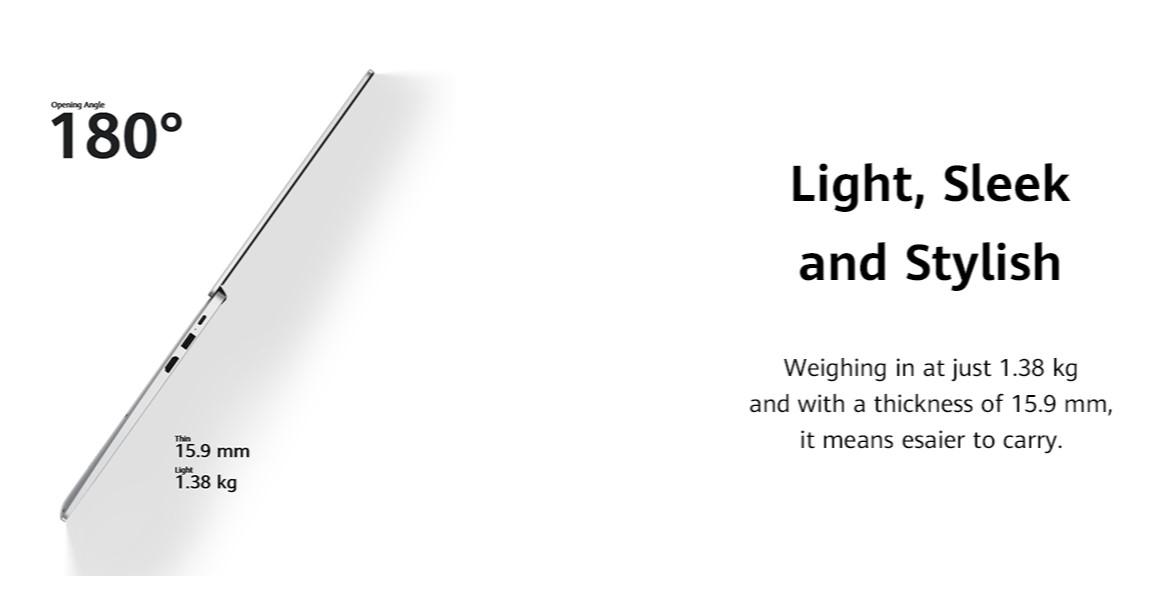 Light Sleek and Stylish - Side View