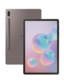 Samsung Galaxy Tab S6 Lite Front And Back View