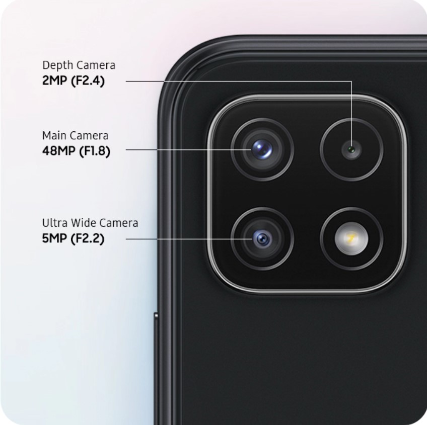 A22 Camera Phone Specification